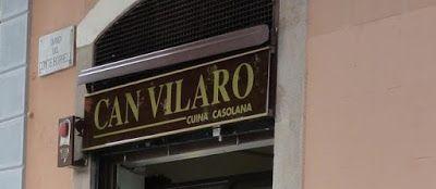 Can Vilaró  entrada