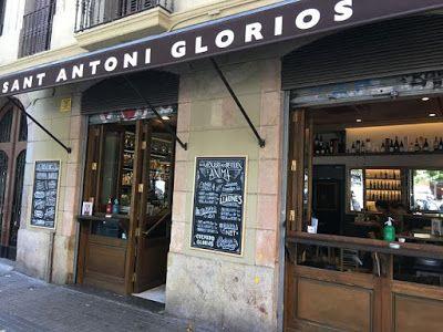 Sant Antoni Gloriós entrada