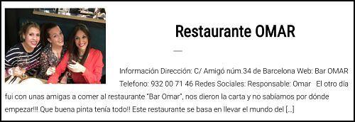 Bar Omar influencers
