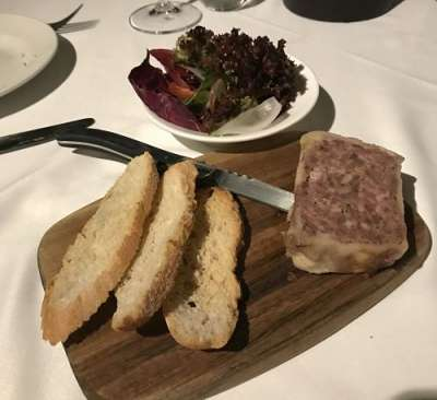 Vivanda Restaurant paté